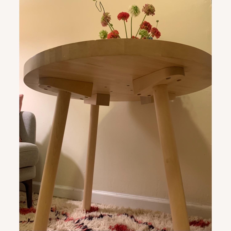 Tom Dixon Wood Bistro Table - image-1