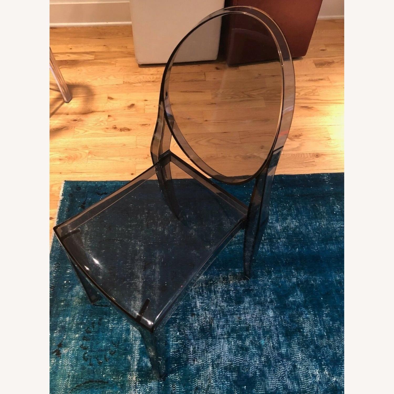 Kartell Victoria Ghost Chair (Smoke Grey) - image-3