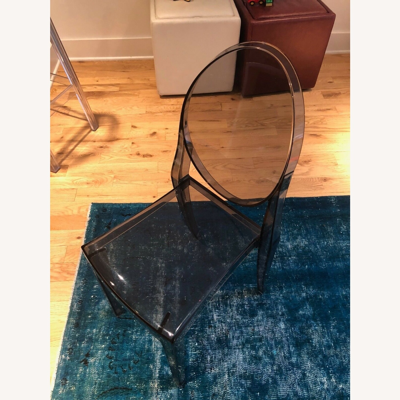 Kartell Victoria Ghost Chair (Smoke Grey) - image-1