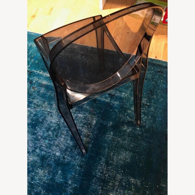 Kartell Victoria Ghost Chair (Smoke Grey) - image-4