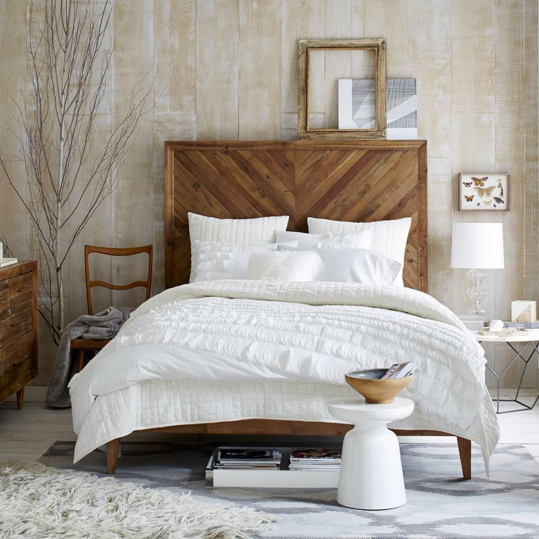 West Elm Alexa Reclaimed Wood Bed - King Size - image-2