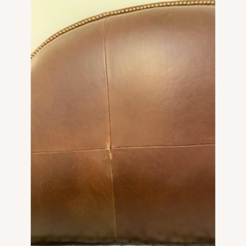 Ballard Design Leather Headboard - image-2