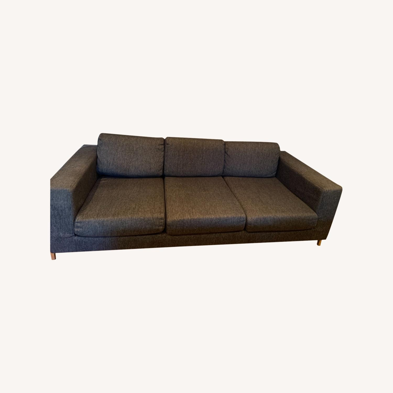 Gus Modern Gray Couch - image-0