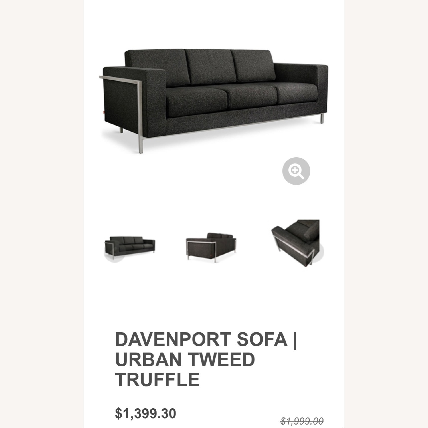 Gus Modern Gray Couch - image-15