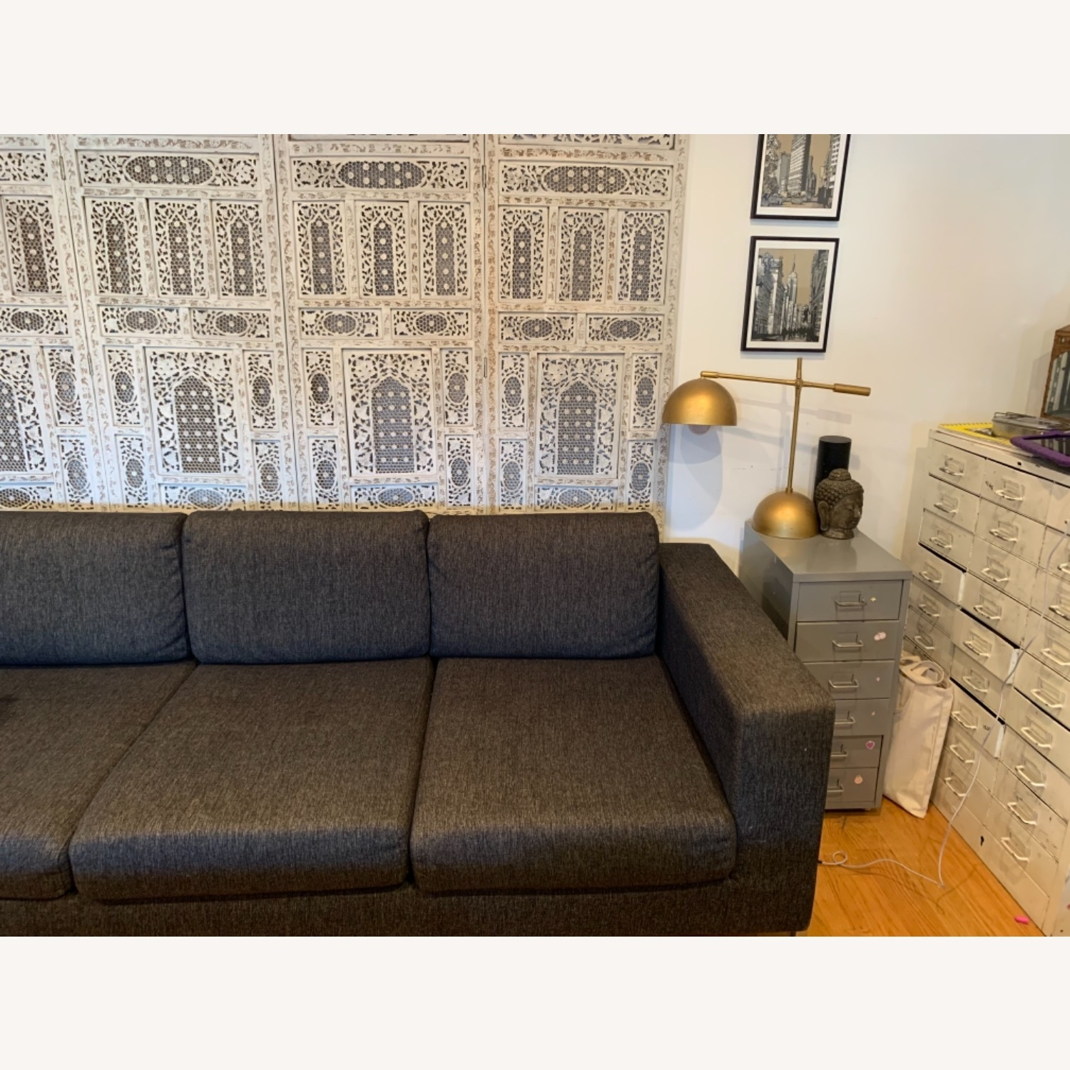 Gus Modern Gray Couch - image-3
