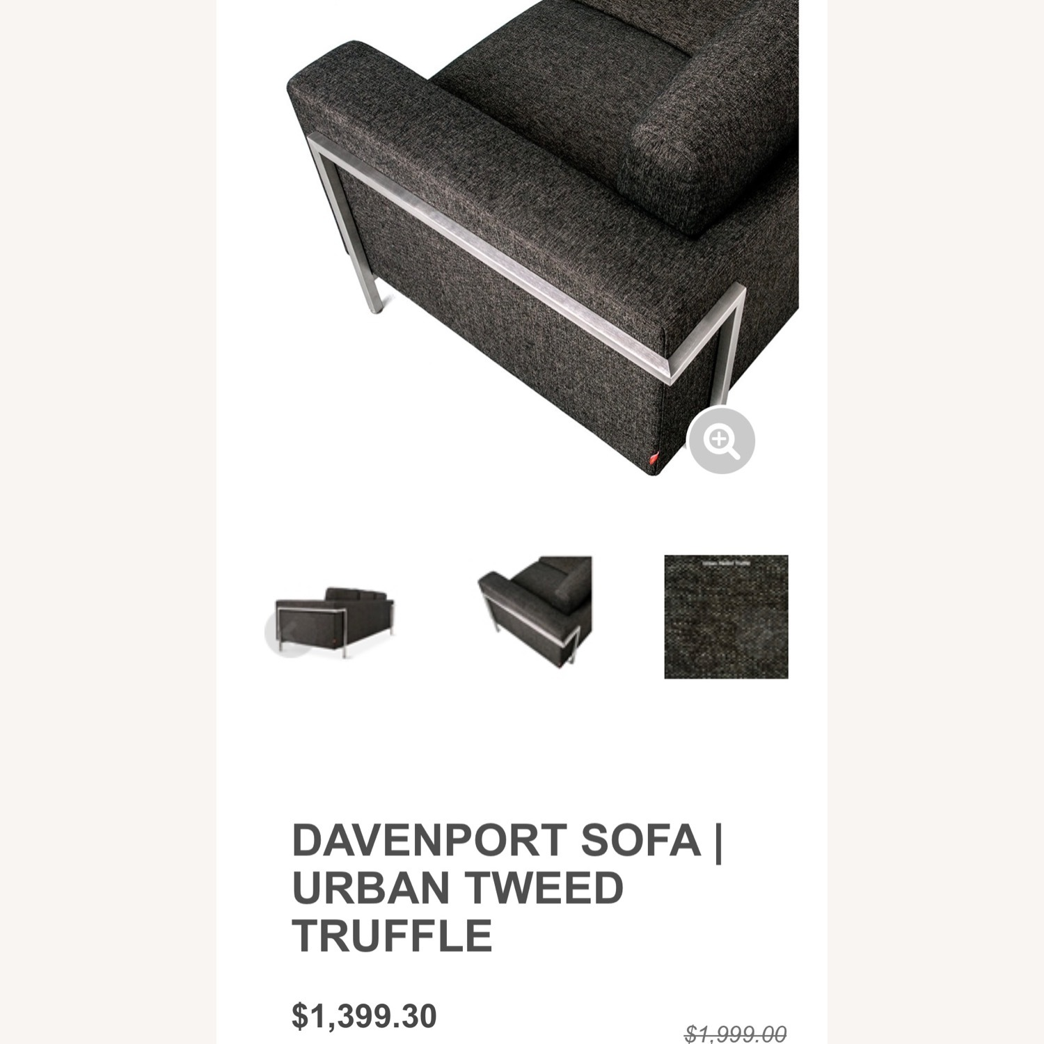 Gus Modern Gray Couch - image-16