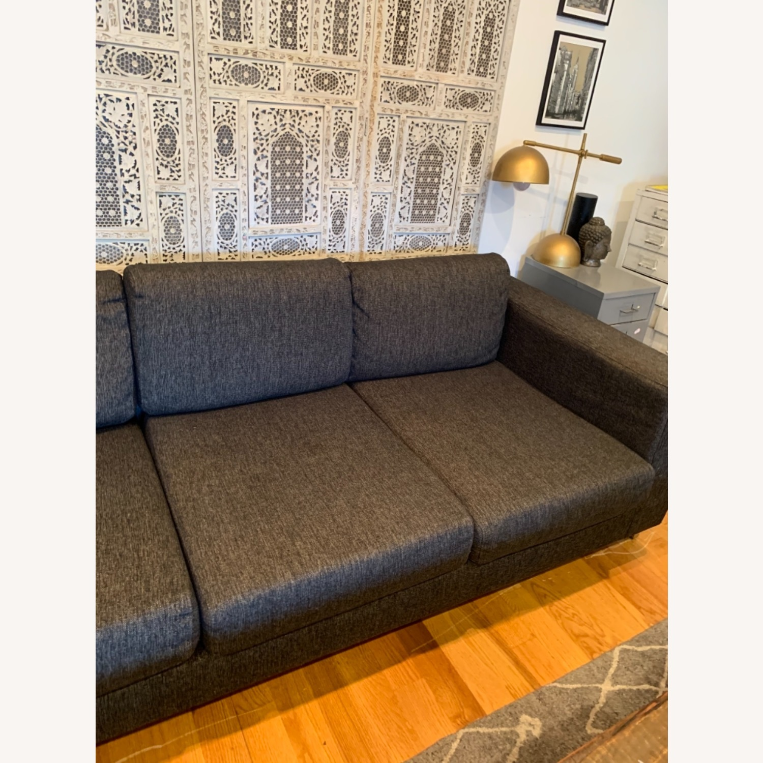 Gus Modern Gray Couch - image-6