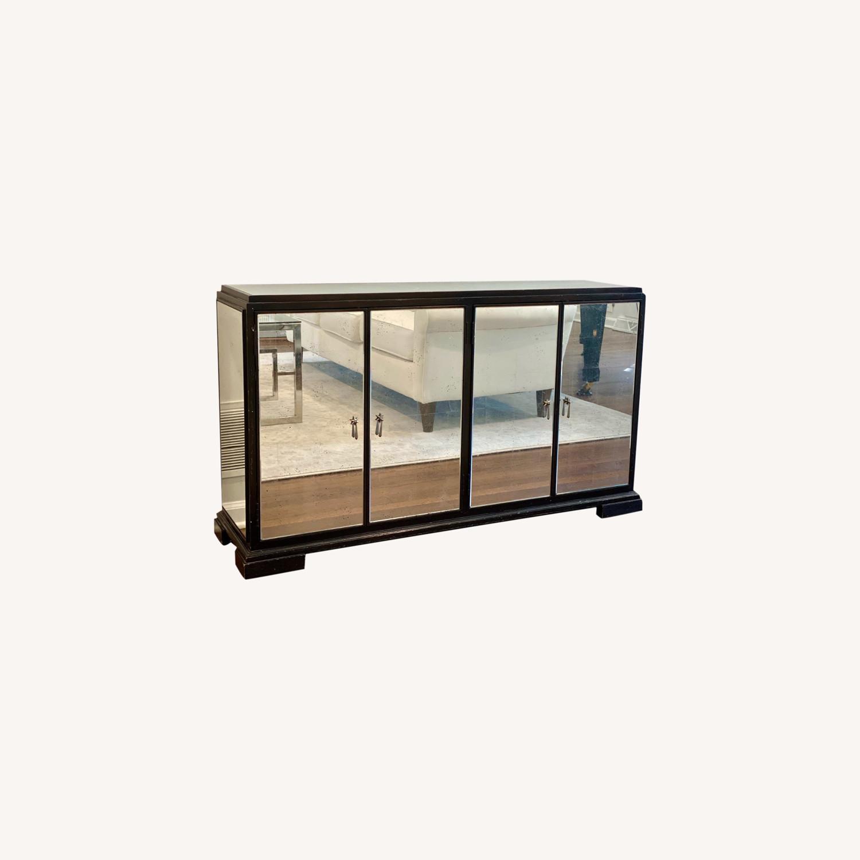 Mitchell Gold + Bob Williams Mirrored Cabinet - image-0
