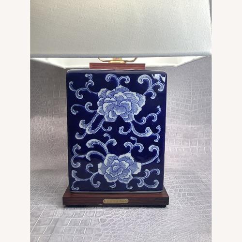 Used Ralph Lauren Blue China Lamp for sale on AptDeco