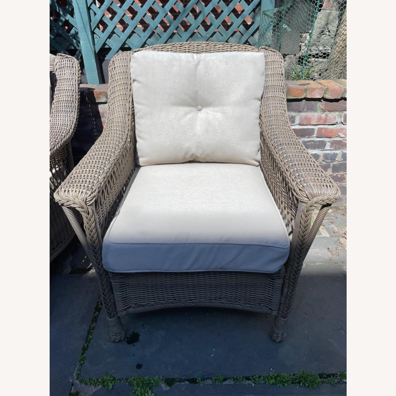 6 Piece Beige Outdoor Patio Furniture Set - image-21