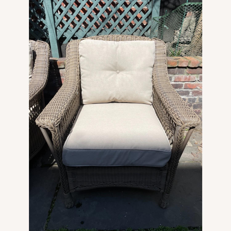 6 Piece Beige Outdoor Patio Furniture Set - image-20