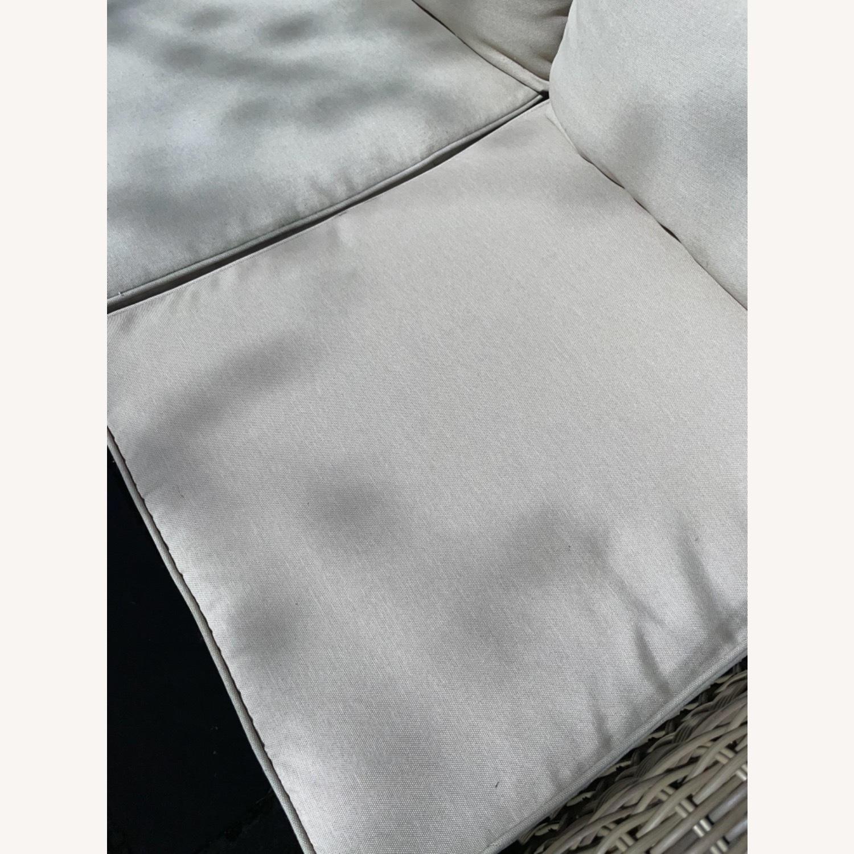 6 Piece Beige Outdoor Patio Furniture Set - image-10
