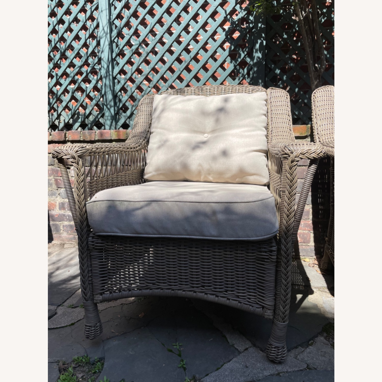 6 Piece Beige Outdoor Patio Furniture Set - image-17