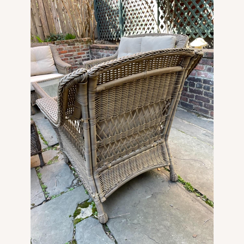 6 Piece Beige Outdoor Patio Furniture Set - image-31