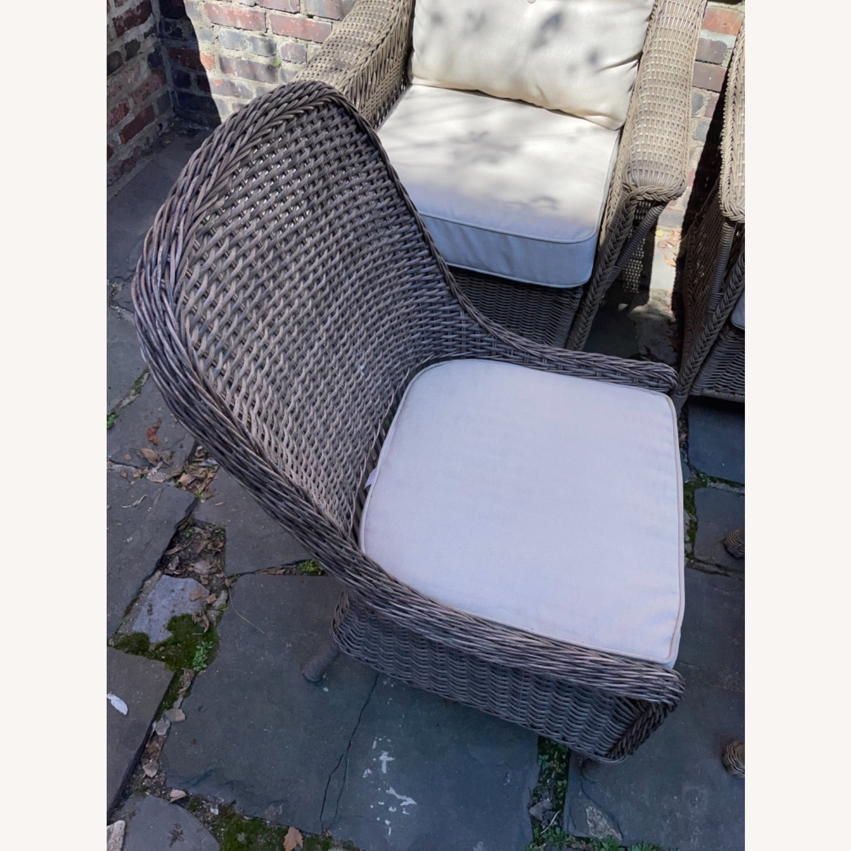 6 Piece Beige Outdoor Patio Furniture Set - image-25
