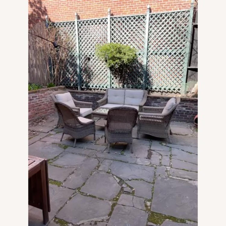 6 Piece Beige Outdoor Patio Furniture Set - image-33