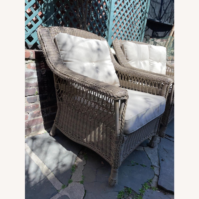 6 Piece Beige Outdoor Patio Furniture Set - image-18