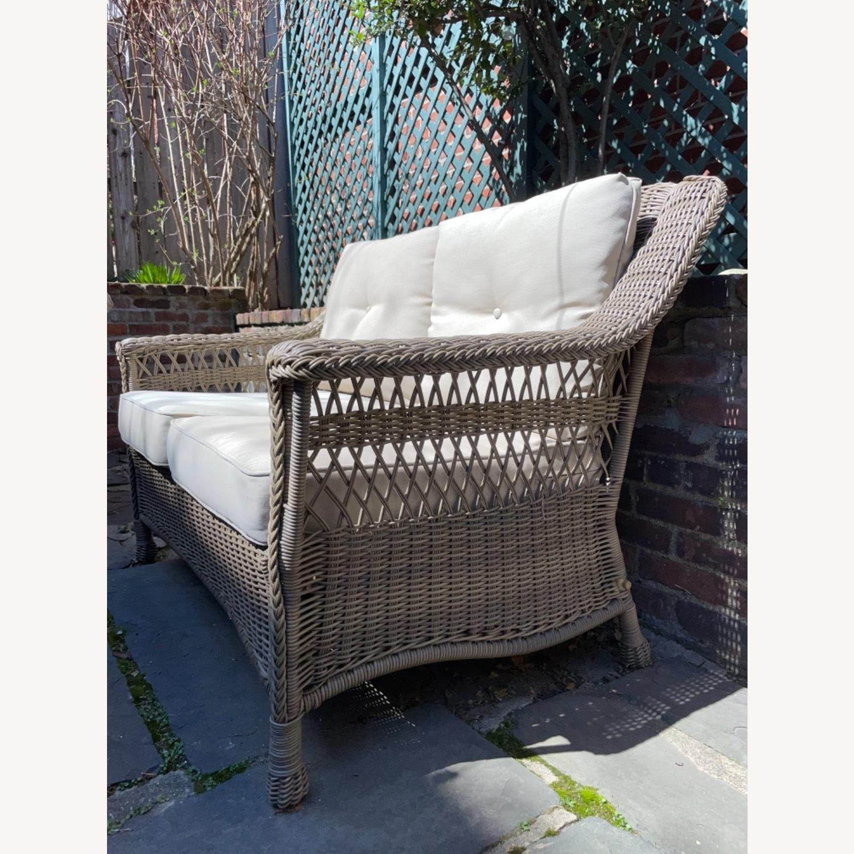 6 Piece Beige Outdoor Patio Furniture Set - image-15