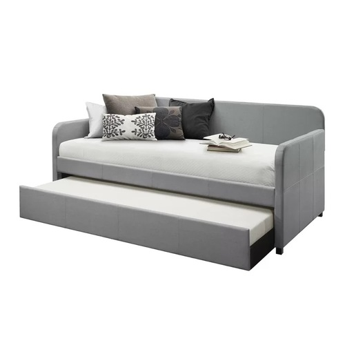 Used Wayfair Upholstered Long Twin Daybed with Trundle Storage for sale on AptDeco