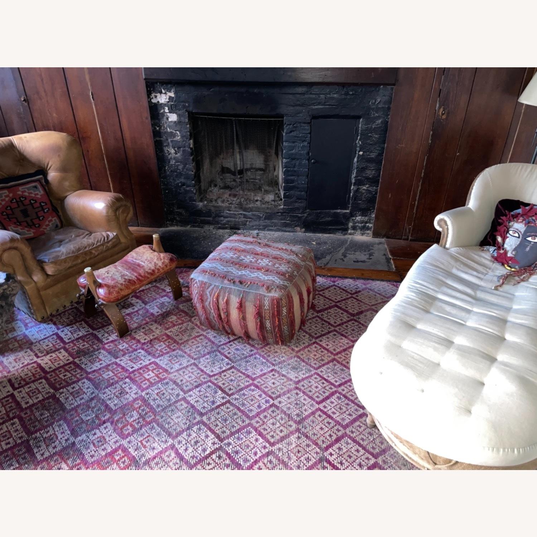 ABC Carpet & Home Vintage Moroccan Ottoman Pouf - image-7