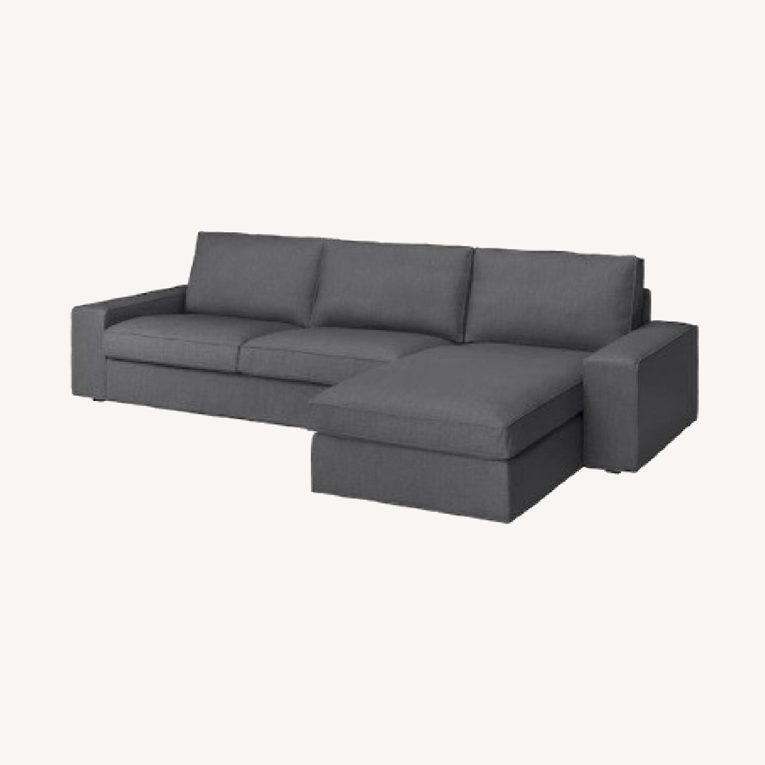 IKEA 4 Person L Shaped Couch - image-5