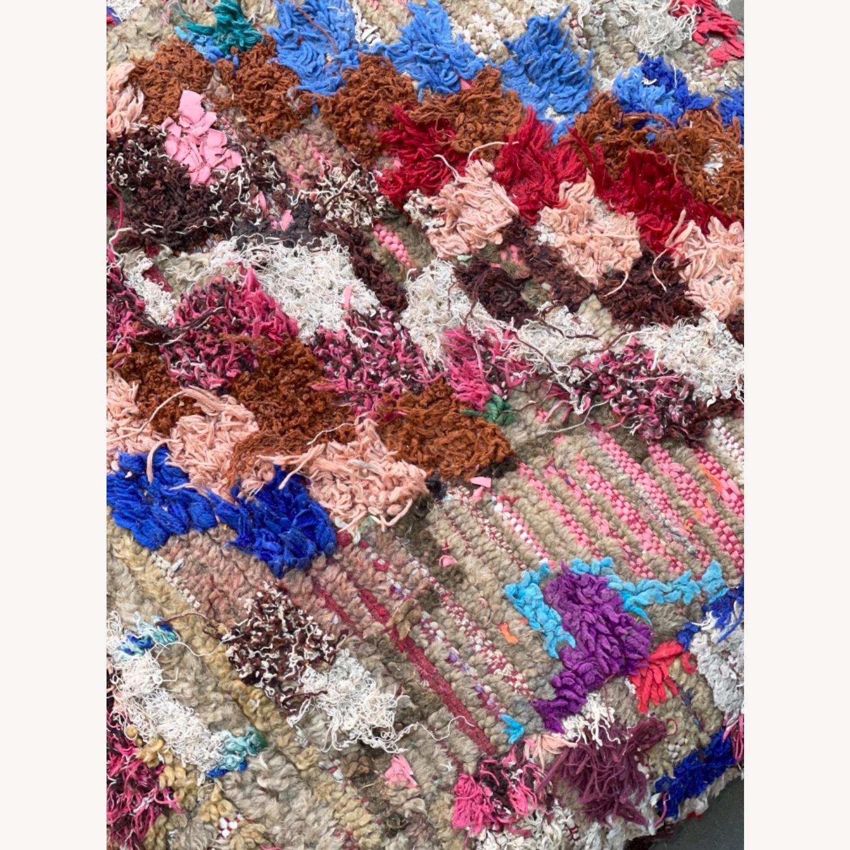ABC Carpet & Home Vintage Moroccan Ottoman Pouf - image-9