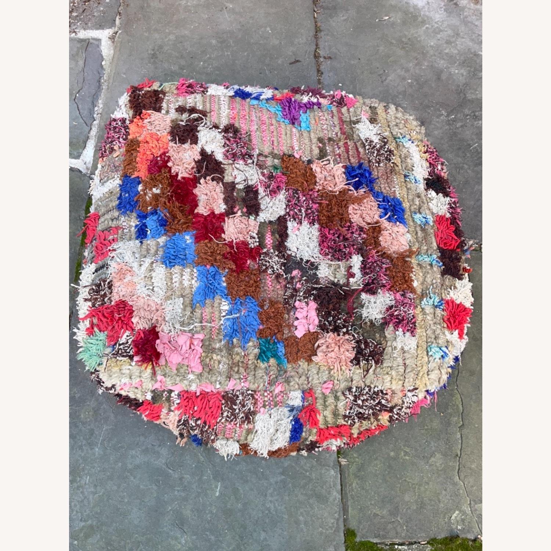 ABC Carpet & Home Vintage Moroccan Ottoman Pouf - image-3