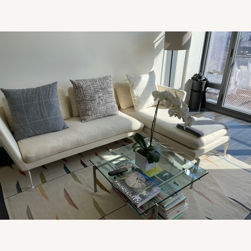 Used Fritz Hansen Glass Coffee Table for sale on AptDeco