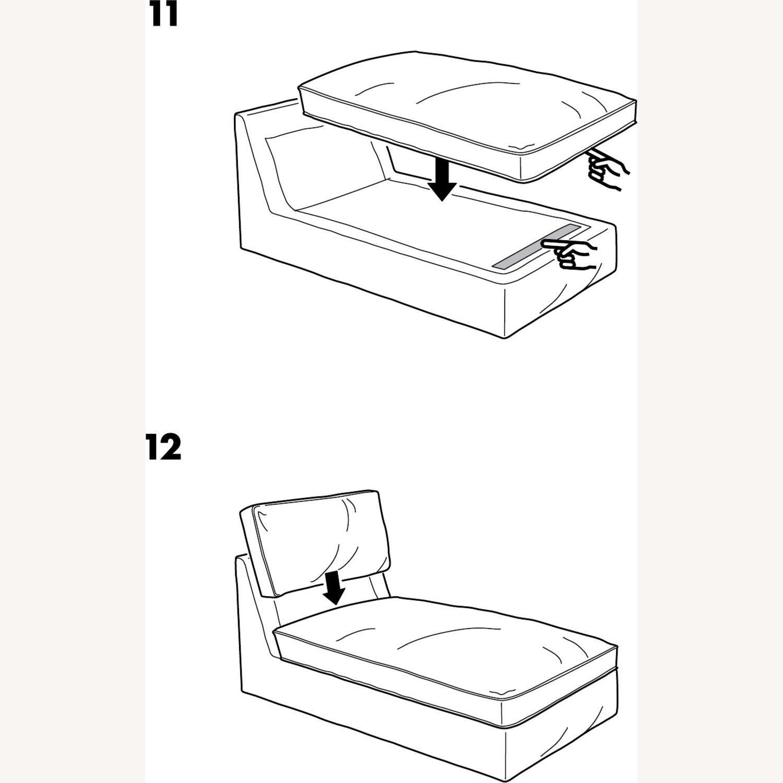IKEA Kivik Chaise Lounge Sofa Chair - image-5