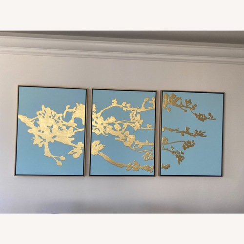 Used Horchow Large 3 piece ART for sale on AptDeco