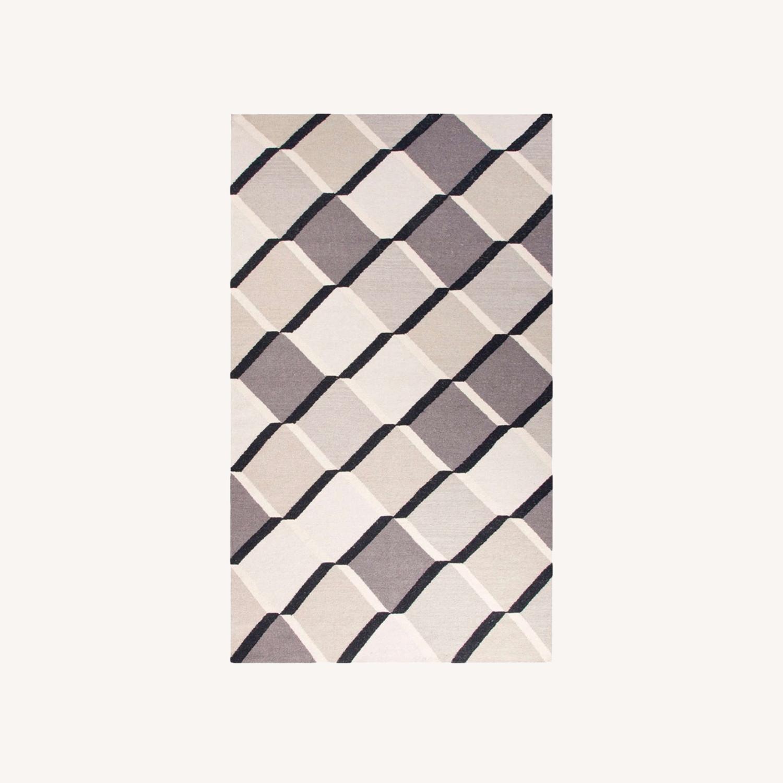 Jaipur Flatweave 8x11 Extra Large Wool Rug - image-0