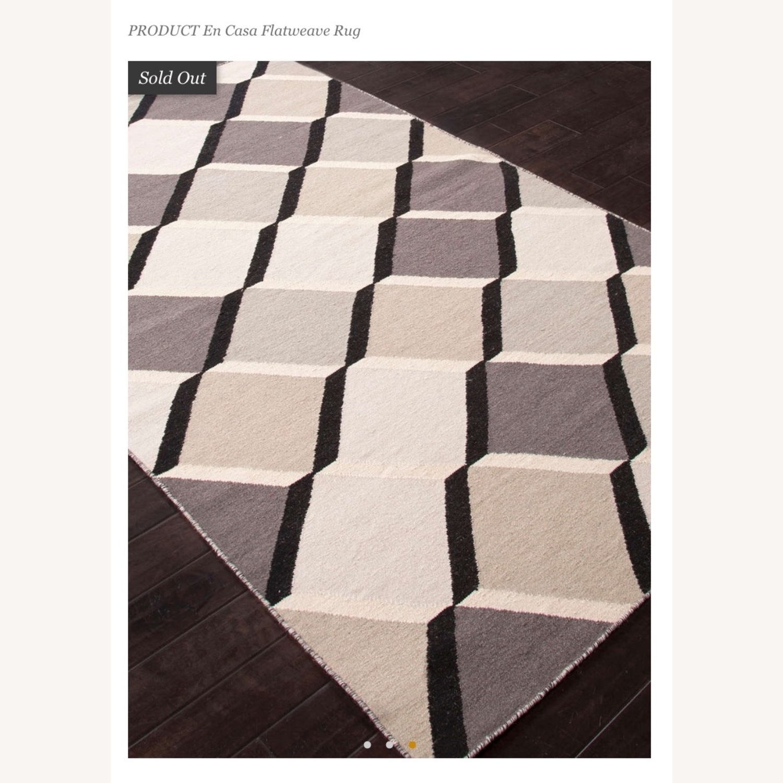 Jaipur Flatweave 8x11 Extra Large Wool Rug - image-2