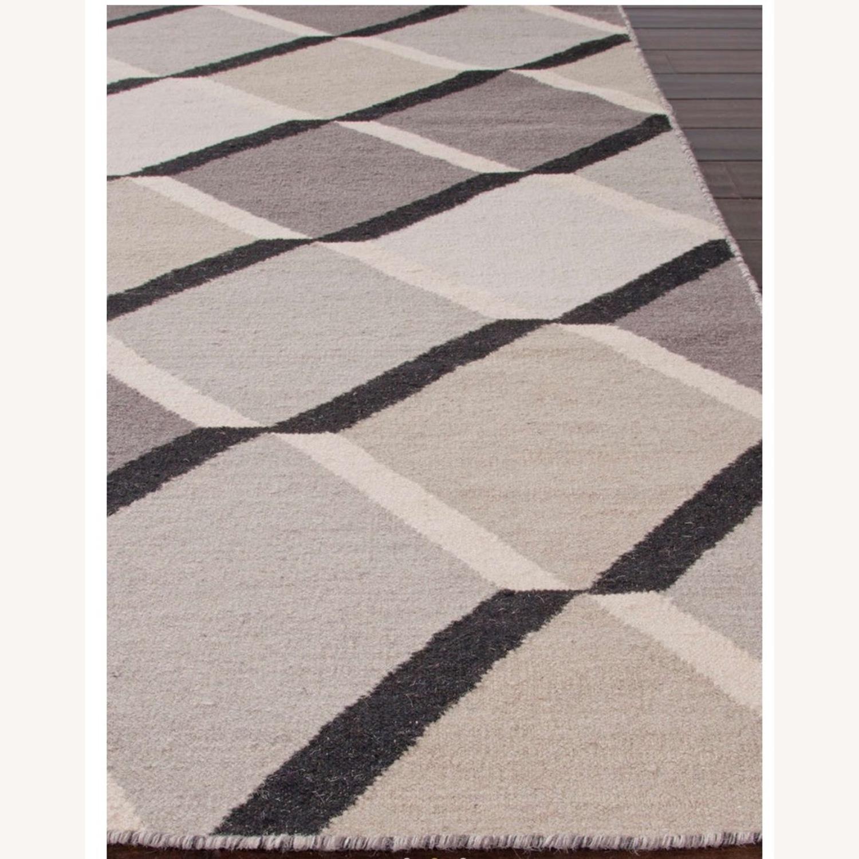 Jaipur Flatweave 8x11 Extra Large Wool Rug - image-3