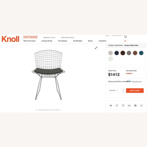 Used Knoll Dining Chairs for sale on AptDeco