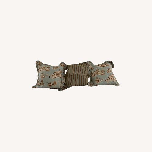 Used Vera Bradley Euro Shams with Pillows for sale on AptDeco