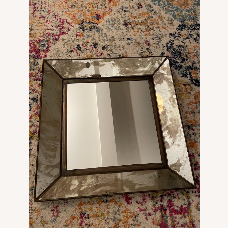 Crate & Barrel Dubois Square Mirrors - set of 4 - image-5