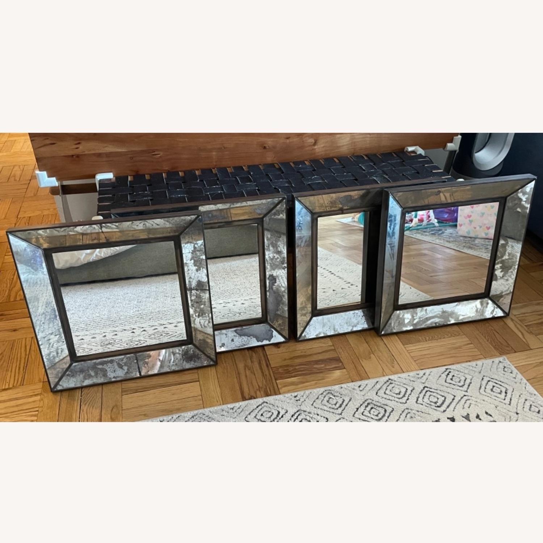 Crate & Barrel Dubois Square Mirrors - set of 4 - image-0