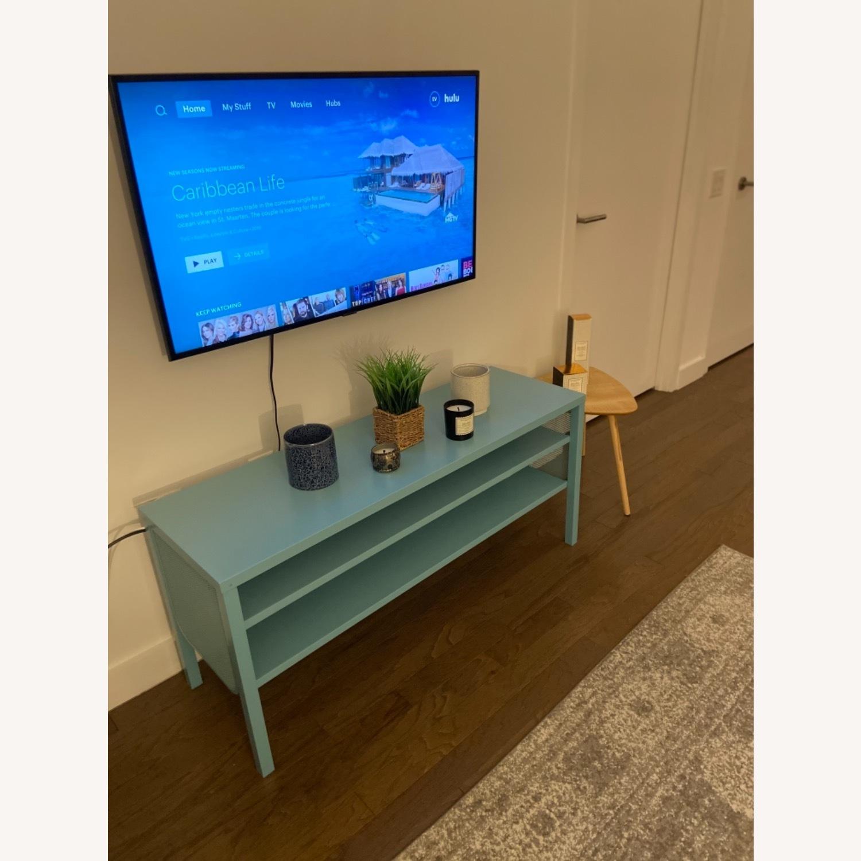 IKEA Slim & Teal TV Stand - image-2