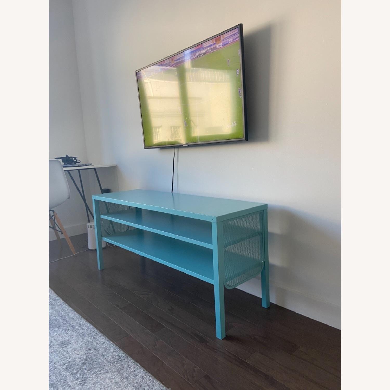 IKEA Slim & Teal TV Stand - image-3