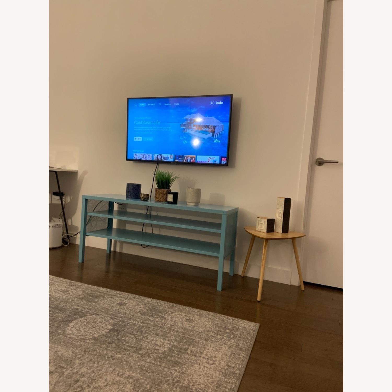 IKEA Slim & Teal TV Stand - image-1