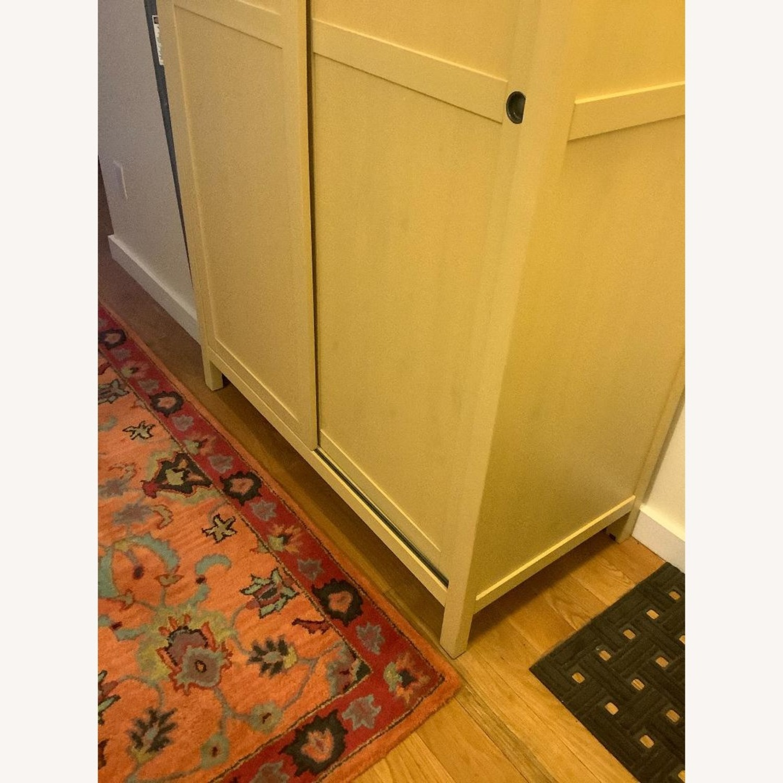 IKEA Mellow Yellow Coat/Clothes/Linen Closet - image-5
