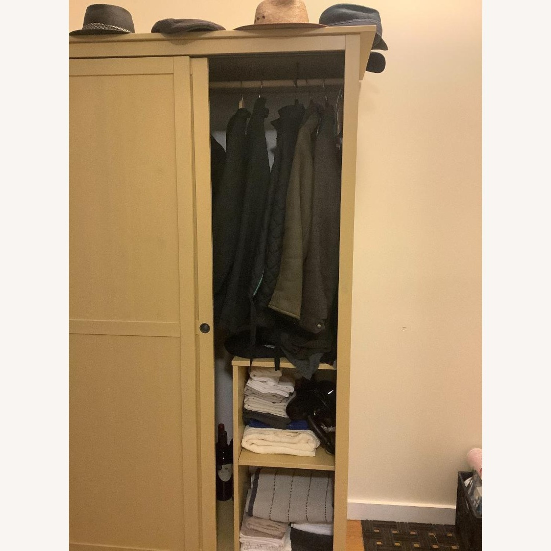 IKEA Mellow Yellow Coat/Clothes/Linen Closet - image-2