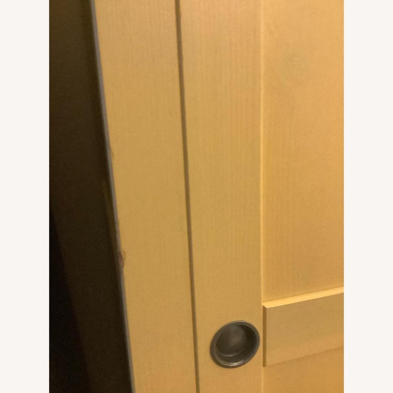 IKEA Mellow Yellow Coat/Clothes/Linen Closet - image-3