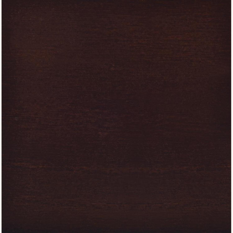 Folding Screen In Tan Jute & Cappuccino Finish - image-4