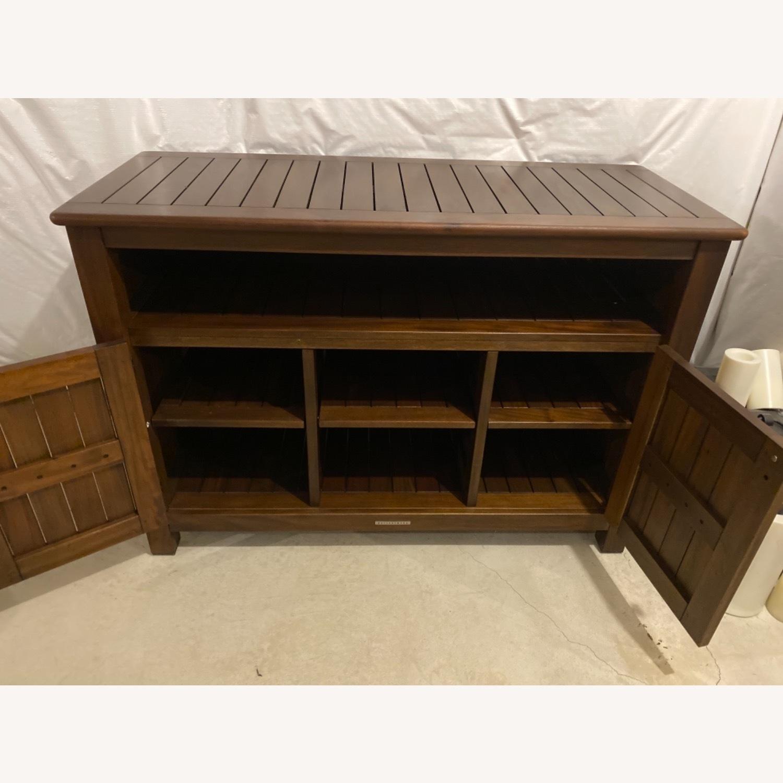 Pottery Barn Mahogany Outdoor Buffet - image-4