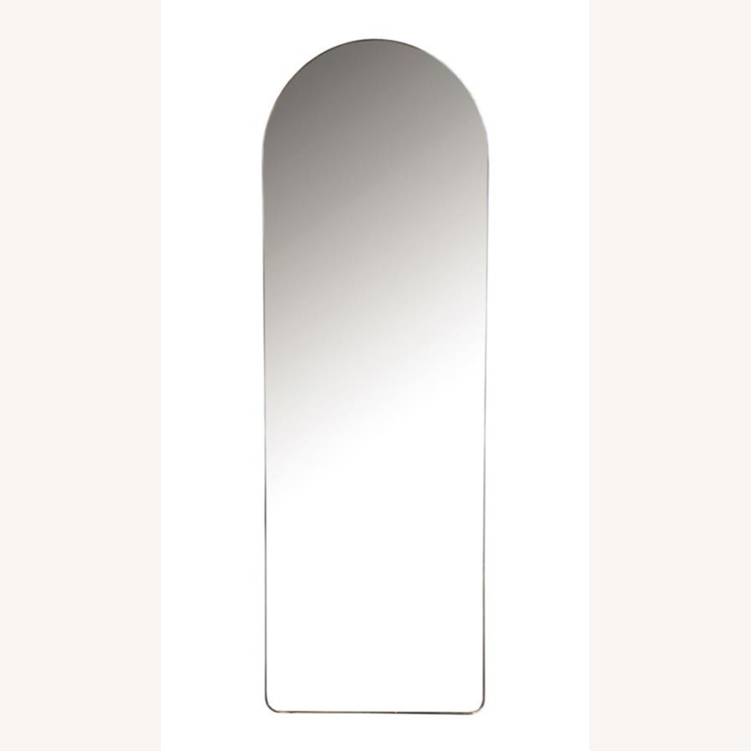 Wall Mirror In Black Metal Frame Finish - image-0