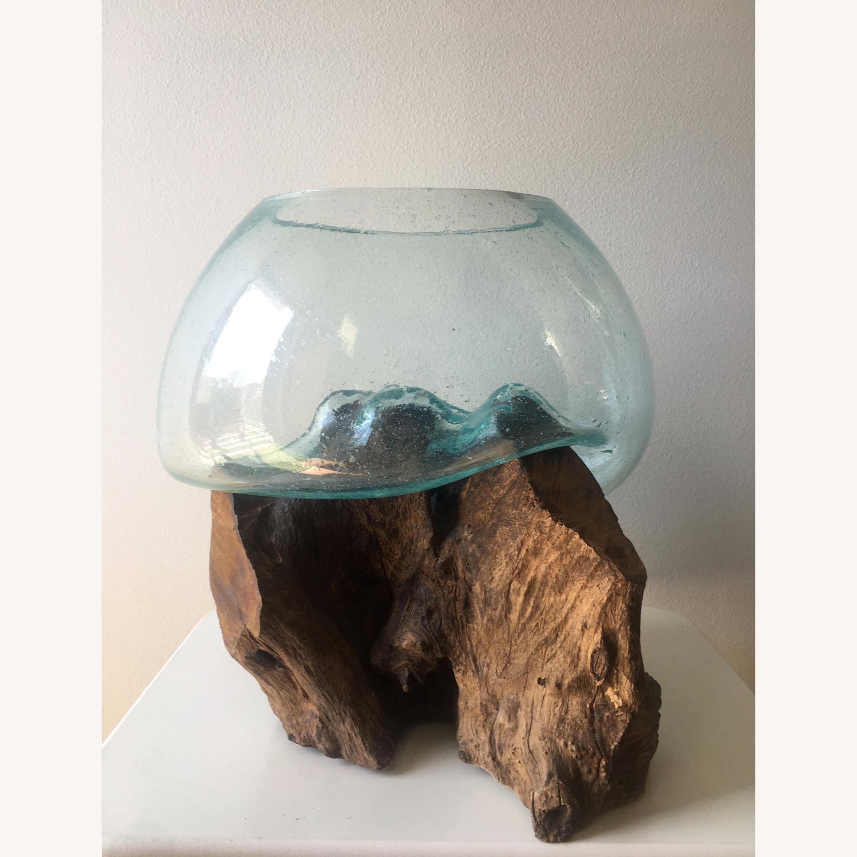 WestElm Wood + Glass Terrarium - Large - image-4