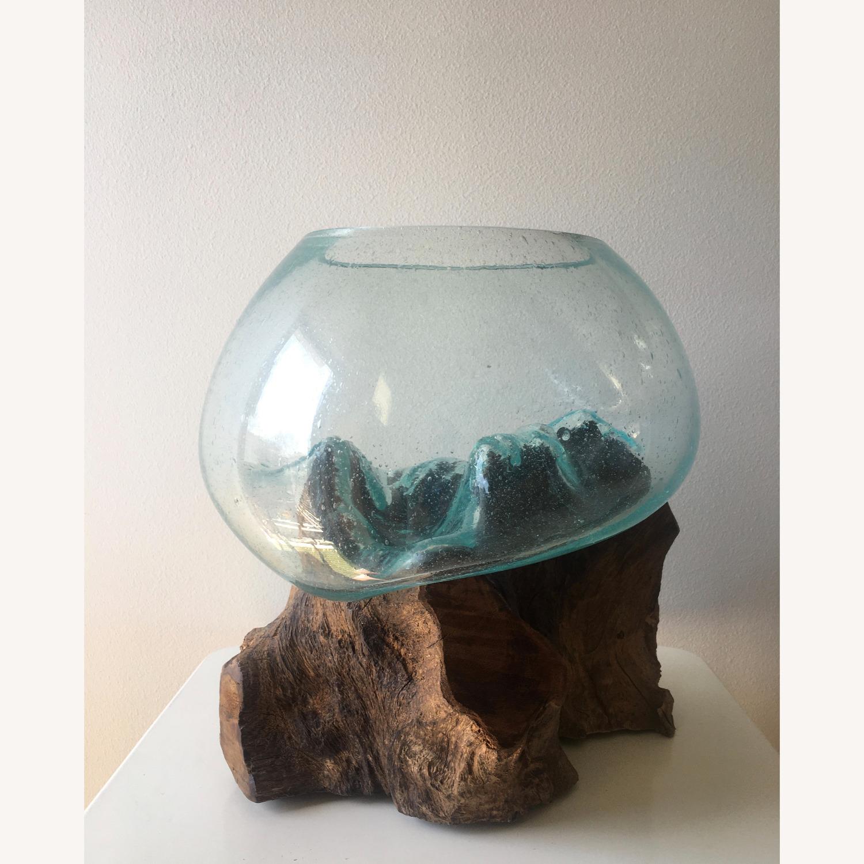 WestElm Wood + Glass Terrarium - Large - image-3