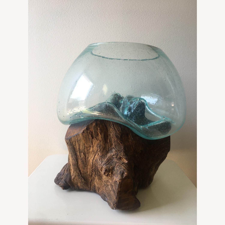 WestElm Wood + Glass Terrarium - Large - image-1