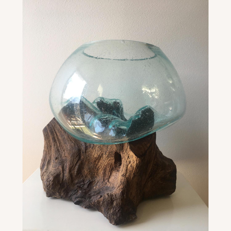 WestElm Wood + Glass Terrarium - Large - image-2